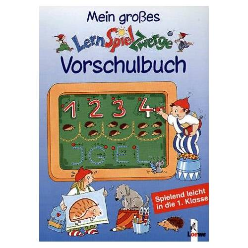 Ulrike Düring - Mein großes LernSpielZwerge-Vorschulbuch - Preis vom 28.11.2020 05:57:09 h