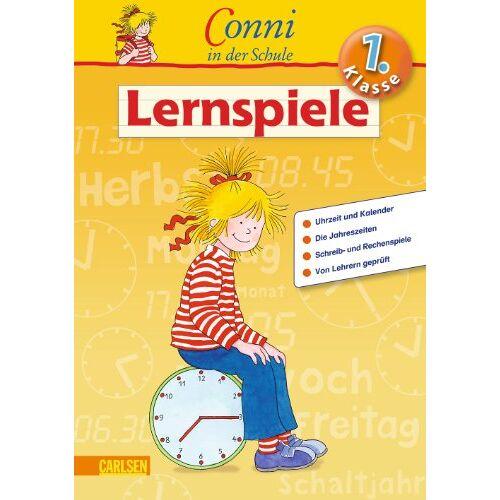 Hanna Sörensen - Conni in der Schule: 1. Klasse - Lernspiele - Preis vom 03.05.2021 04:57:00 h