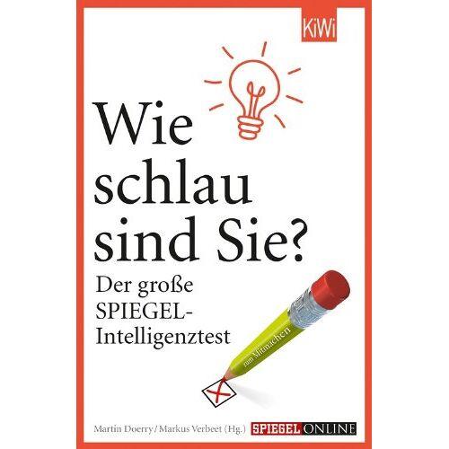 Markus Verbeet - Wie schlau sind Sie?: Der große SPIEGEL-Intelligenztest - Preis vom 20.10.2020 04:55:35 h