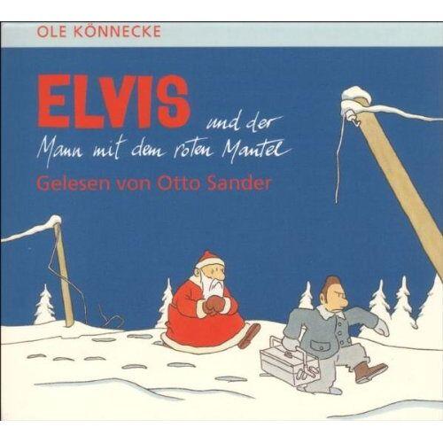 Ole Könnecke - Elvis und der Mann mit dem roten Mantel. CD. - Preis vom 20.10.2020 04:55:35 h