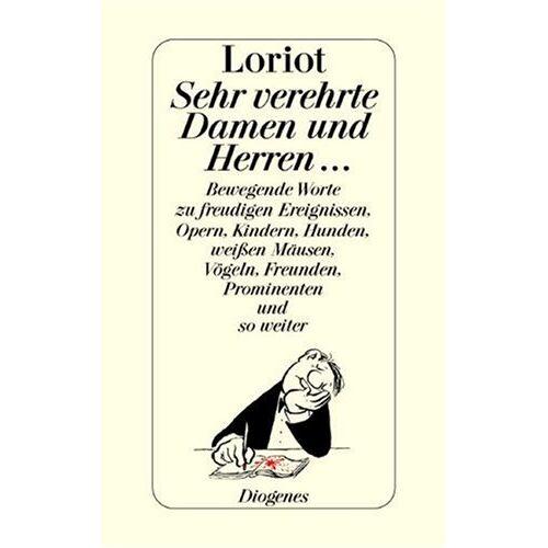 Loriot - Sehr verehrte Damen und Herren . . . - Preis vom 20.10.2020 04:55:35 h