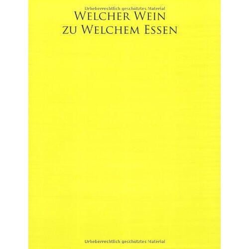 Joanna Simon - Welcher Wein zu welchem Essen? - Preis vom 06.09.2020 04:54:28 h