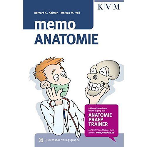 Kolster, Bernard C. - Memo Anatomie: Inkl. Online-Zugang zum Anatomie-Präp-Trainer - Preis vom 25.01.2020 05:58:48 h