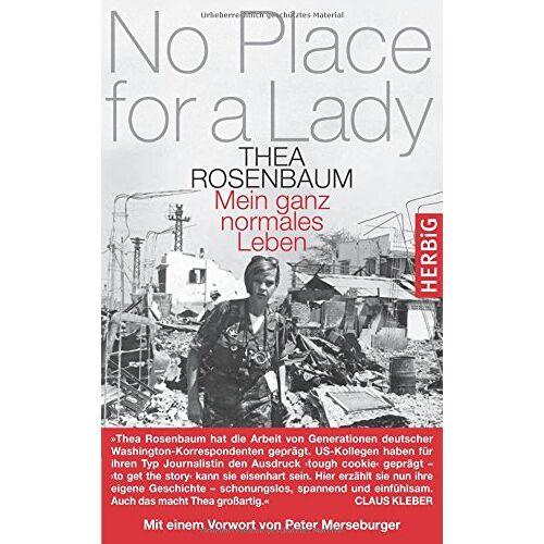 Thea Rosenbaum - No Place for a Lady - Preis vom 14.05.2021 04:51:20 h