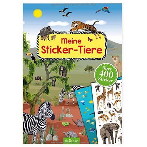 - Meine Sticker-Tiere: Mit über 400 Stickern (Mein Stickerbuch) - Preis vom 04.09.2020 04:54:27 h