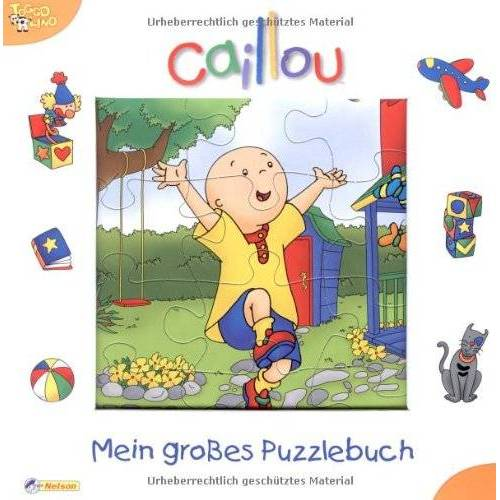 - Caillou, Mein großes Puzzlebuch: Nelson Puzzlebuch - Preis vom 28.02.2021 06:03:40 h
