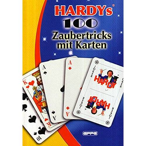 Zauberer Hardy - Hardys 100 Zaubertricks mit Karten - Preis vom 05.03.2021 05:56:49 h