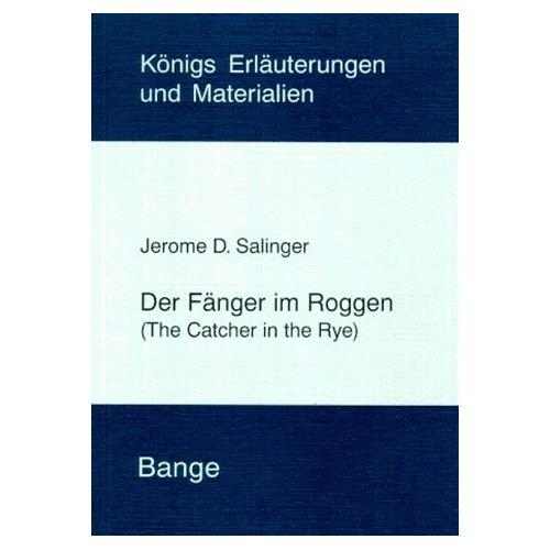 Salinger, J. D. - Der Fänger im Roggen - Preis vom 18.04.2021 04:52:10 h