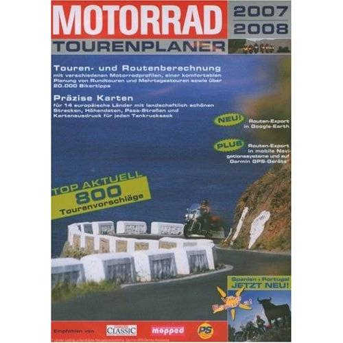 Buhl Data Service - Motorrad Tourenplaner 2007/2008 (DVD-ROM) (DVD-Box) - Preis vom 23.02.2021 06:05:19 h