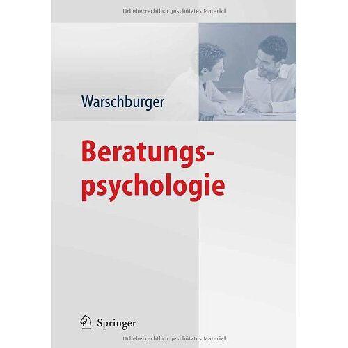 Petra Warschburger - Beratungspsychologie - Preis vom 14.04.2021 04:53:30 h