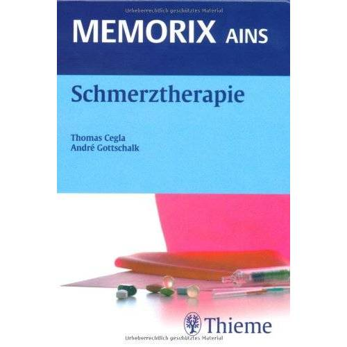 Thomas Cegla - Schmerztherapie - Preis vom 26.10.2020 05:55:47 h