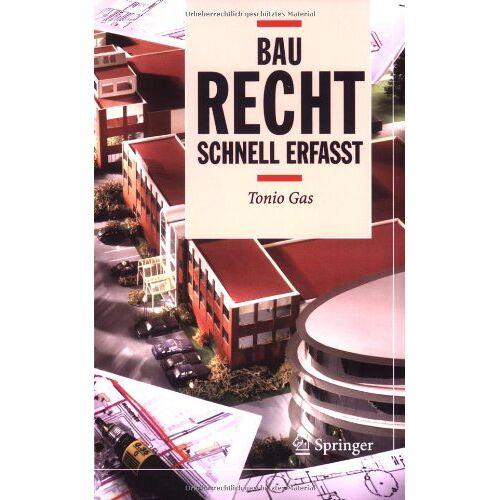 Tonio Gas - Baurecht - Schnell erfasst - Preis vom 09.04.2021 04:50:04 h