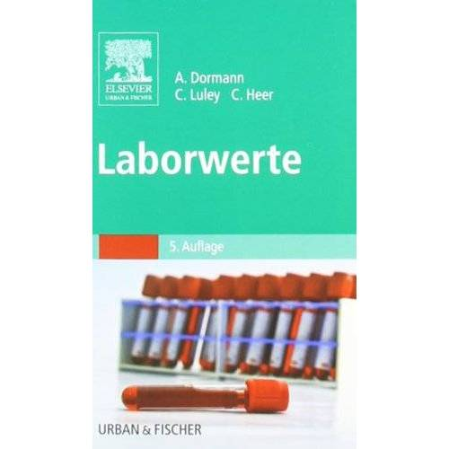 Dormann, Arno J. - Laborwerte - Preis vom 08.05.2021 04:52:27 h
