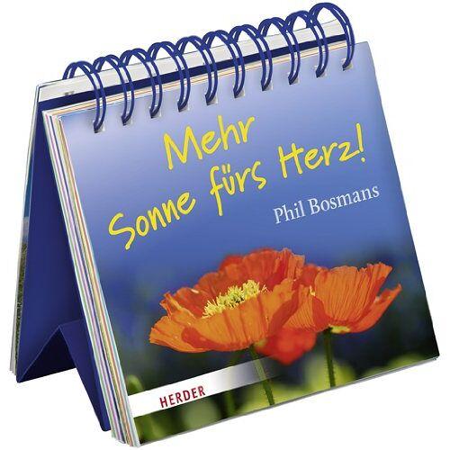 Phil Bosmans - Mehr Sonne fürs Herz! - Preis vom 18.04.2021 04:52:10 h