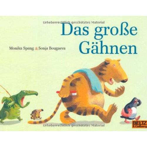 Monika Spang - Das große Gähnen (MINIMAX) - Preis vom 09.05.2021 04:52:39 h