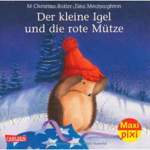 Butler, M. Christina - Maxi-Pixi Nr. 139: Der kleine Igel und die rote Mütze - Preis vom 04.09.2020 04:54:27 h