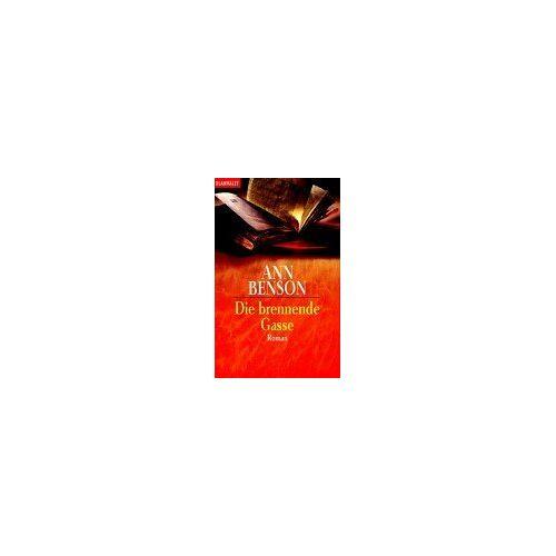 Ann Benson - Die brennende Gasse - Preis vom 06.03.2021 05:55:44 h