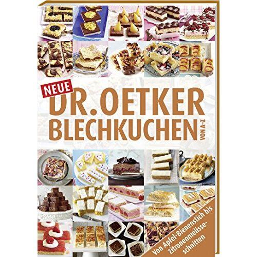 Dr. Oetker - Neue Blechkuchen von A - Z - Preis vom 06.03.2021 05:55:44 h