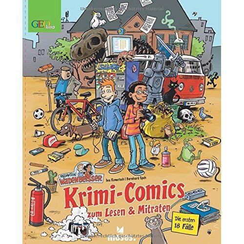 Ina Rometsch - Redaktion Wadenbeißer: Krimi-Comics zum Lesen & Mitraten - Preis vom 07.05.2021 04:52:30 h