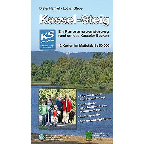 Dieter Hankel - Kassel-Steig: Ein Panoramawanderweg rund um das Kasseler Becken - Preis vom 17.04.2021 04:51:59 h