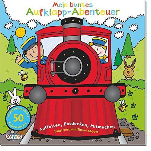 Simon Abbott - Mein buntes Aufklapp-Abenteuer: Eisenbahn: Auffalten, Entdecken, Mitmachen. - Preis vom 12.04.2021 04:50:28 h