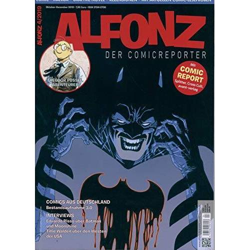 ALFONZ - DER COMICREPORTER - ALFONZ - DER COMICREPORTER 4/2019 Mit Comic Report - Preis vom 17.04.2021 04:51:59 h