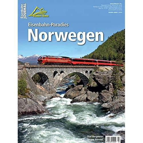 Olaf Bergmeier - Eisenbahn-Paradies Norwegen - Eisenbahn-Journal Bahnen + Berge 1-2019 - Preis vom 02.12.2020 06:00:01 h
