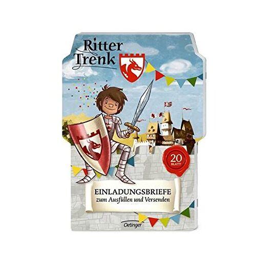 Kirsten Boie - Ritter Trenk Einladungskarten - Preis vom 27.11.2020 05:57:48 h