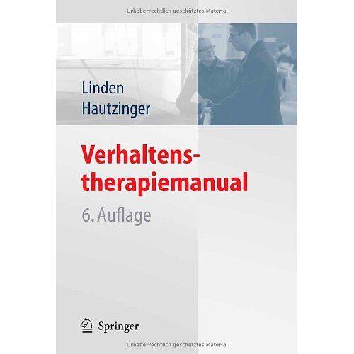 Michael Linden - Verhaltenstherapiemanual - Preis vom 03.03.2021 05:50:10 h