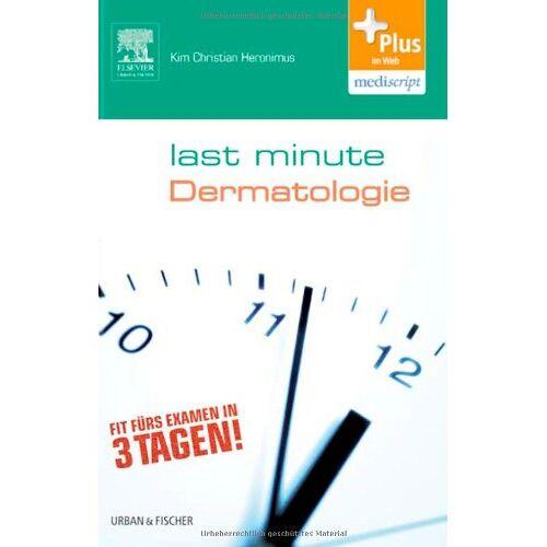Heronimus, Kim Christian - Last Minute Dermatologie - Preis vom 20.10.2020 04:55:35 h