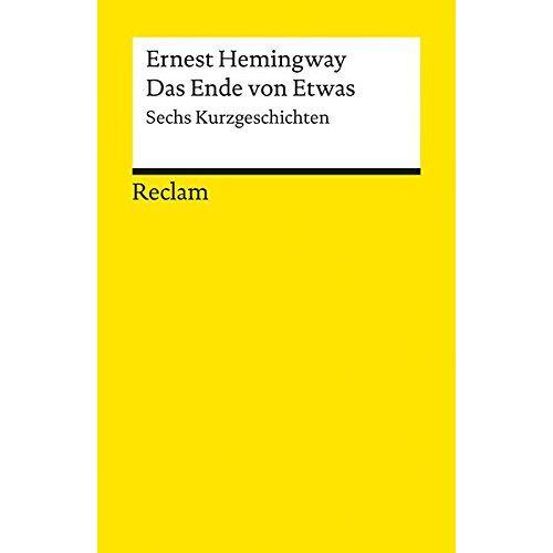 - Das Ende von Etwas: Sechs Kurzgeschichten - Preis vom 14.04.2021 04:53:30 h
