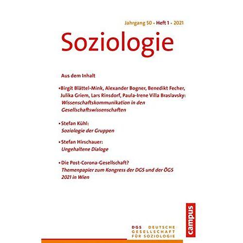 Sina Farzin - Soziologie 1/2021: Forum der Deutschen Gesellschaft für Soziologie - Preis vom 06.05.2021 04:54:26 h