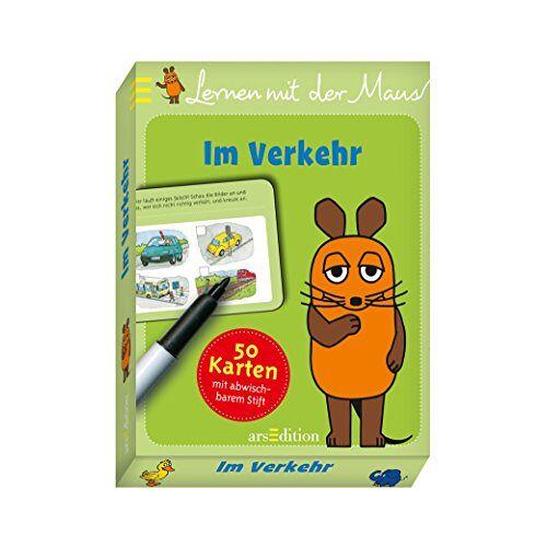 - Lernen mit der Maus - Im Verkehr: 50 Karten mit abwischbarem Stift - Preis vom 14.04.2021 04:53:30 h