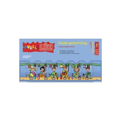 - PuzzleLÜK: Kindergeburtstag: Puzzle-Lernspiele: Kontrollgerät mit Heft - Preis vom 08.05.2021 04:52:27 h