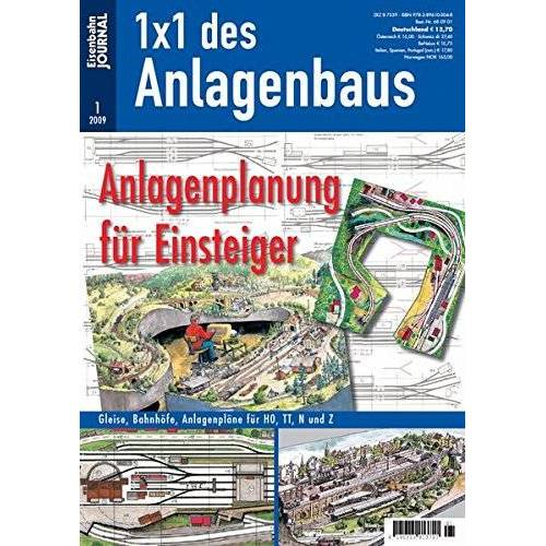 Eisenbahn Journal - Anlagenplanung für Einsteiger - Eisenbahn Journal 1 x 1 des Anlagenbaus 1-2009 - Preis vom 26.11.2020 05:59:25 h
