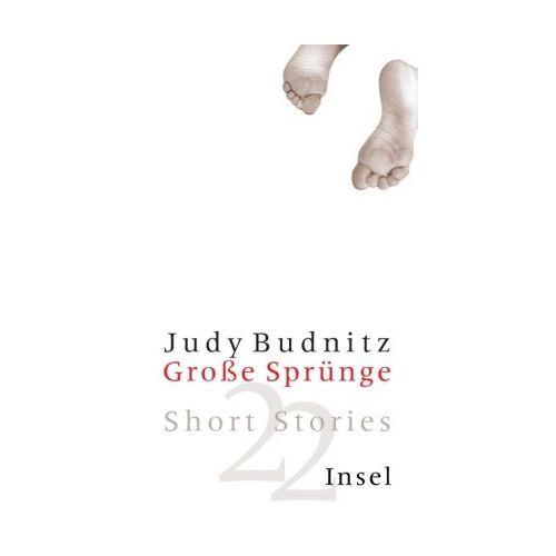 Judy Budnitz - Große Sprünge: Short Stories - Preis vom 20.10.2020 04:55:35 h