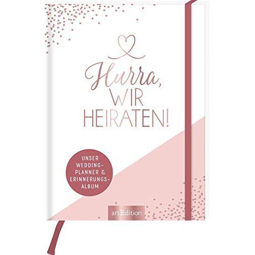 - Hochzeitsplaner Hurra, wir heiraten!: Unser Wedding Planner und Erinnerungsalbum - Preis vom 28.03.2020 05:56:53 h