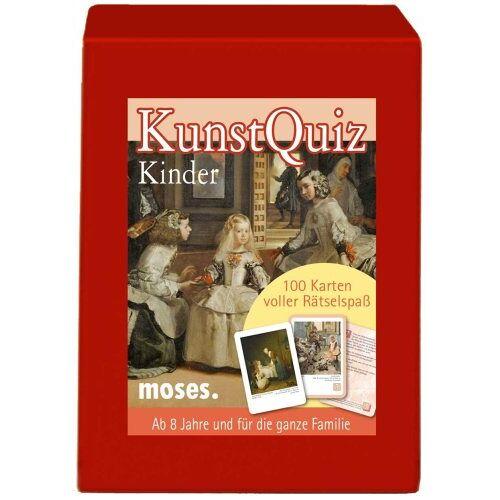 Birgit Poppe - Moses Verlag 387 - Kunst Quiz Kinder - Preis vom 04.06.2020 05:03:55 h