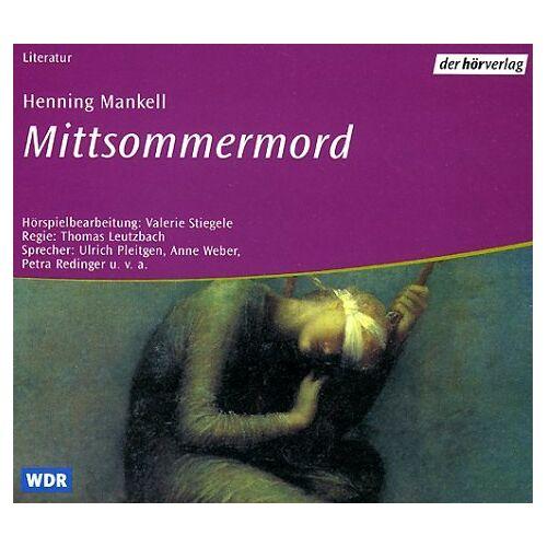 Henning Mankell - Mittsommermord. 2 CDs. - Preis vom 02.06.2020 05:03:09 h