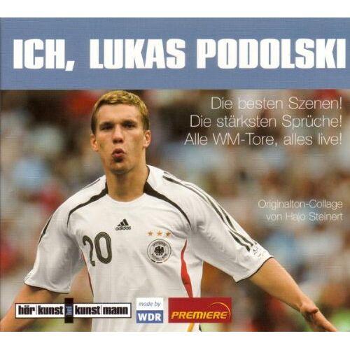 Hajo Steinert - Ich, Lukas Podolski! CD: Die besten Szenen! Die stärksten Sprüche! Alle WM-Tore, alles live - Preis vom 19.10.2020 04:51:53 h