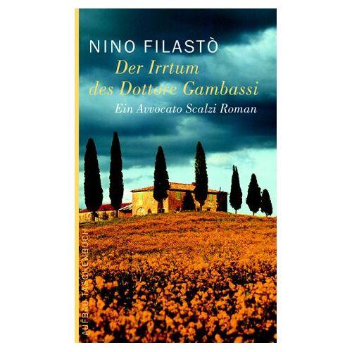 Nino Filasto - Der Irrtum des Dottore Gambassi - Preis vom 06.09.2020 04:54:28 h