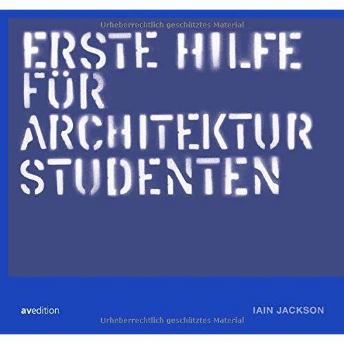 Jackson Erste hilfe für Architekturstudenten - Preis vom 18.04.2021 04:52:10 h