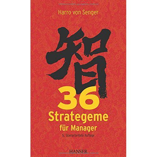 Senger, Harro von - 36 Strategeme für Manager - Preis vom 21.04.2021 04:48:01 h