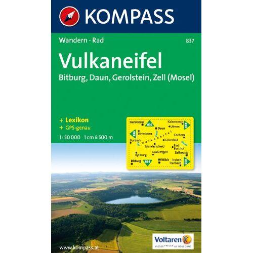- Vulkaneifel 1 : 50 000: Gerolstein. Bitburg, Zell (Mosel). Wander- und Bikekarte. GPS-genau - Preis vom 05.05.2021 04:54:13 h