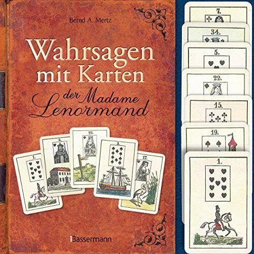 Mertz, Bernd A. - Wahrsagen mit Karten der Madame Lenormand-Set: Mit 36 Lenormandkarten - Preis vom 05.09.2020 04:49:05 h