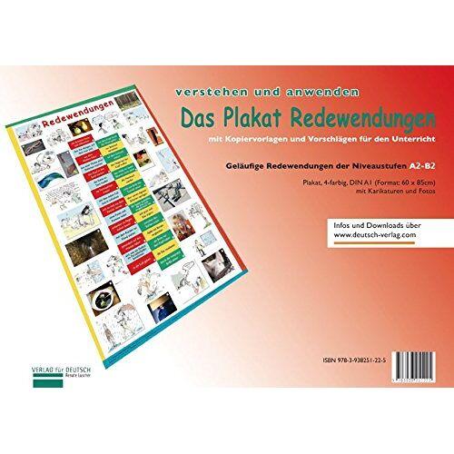 Renate Luscher - Lernplakate: Plakat Redewendungen: Übungsheft und 1 Plakat - Preis vom 20.10.2020 04:55:35 h