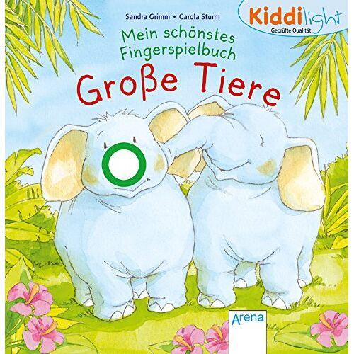 Sandra Grimm - Mein schönstes Fingerspielbuch. Große Tiere: Kiddilight - Preis vom 10.05.2021 04:48:42 h