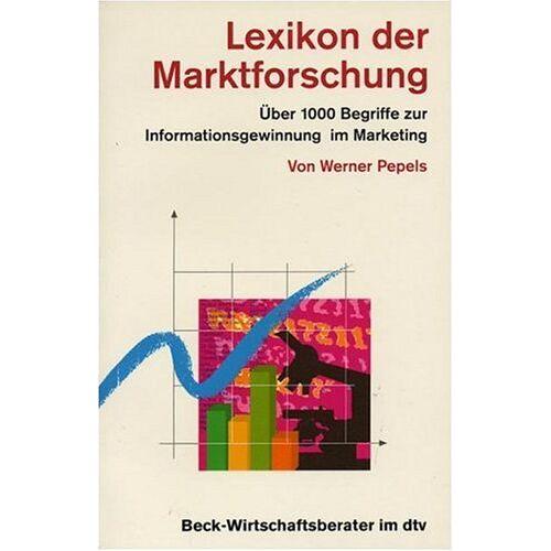Werner Pepels - Lexikon der Marktforschung - Preis vom 03.05.2021 04:57:00 h