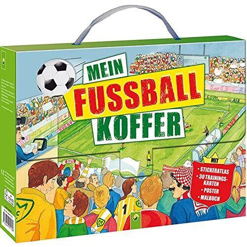 - Mein Fußball-Koffer: Stickeratlas - 30 Trainingskarten - Poster - Malbuch - Preis vom 06.05.2021 04:54:26 h