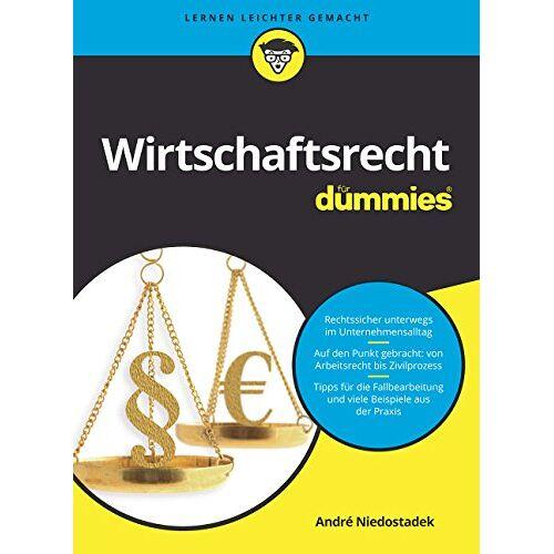 André Niedostadek - Wirtschaftsrecht für Dummies - Preis vom 03.12.2020 05:57:36 h